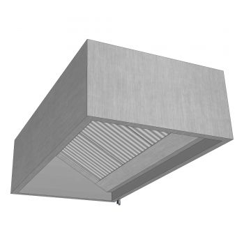 Boxed Wall Canopy 1200x1000mm