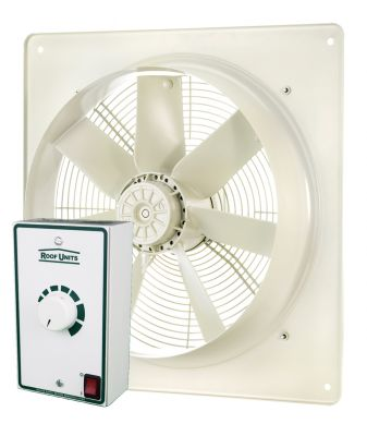 Vent Axia Roof Units ESP Plate Mounted Axial Fan 315mm + SP5001 Speed Controller