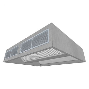 Island Canopy with Air Supply 2400x2000mm