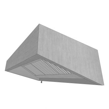 Tapered Wall Canopy 1200x1000mm