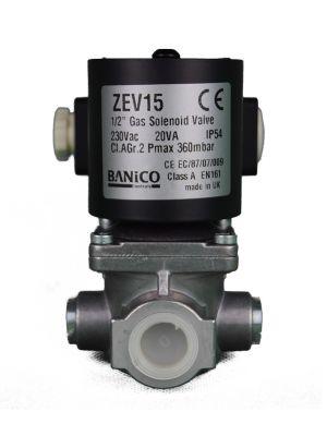 Banico Gas Interlock Solenoid Valve 1/2