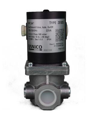 Banico Gas Interlock Solenoid Valve 3/4