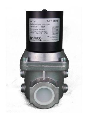 Banico Gas Interlock Solenoid Valve 1-1/4